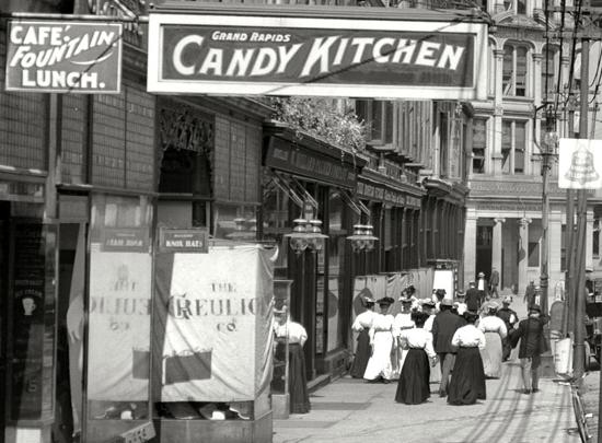 Grand Rapids, Michigan, circa 1908