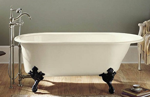 Beau Iu0027ve Never Seen Feet Quite Like The Ones On This Kohler Tub. The Legs Are  Unusual And Pretty.